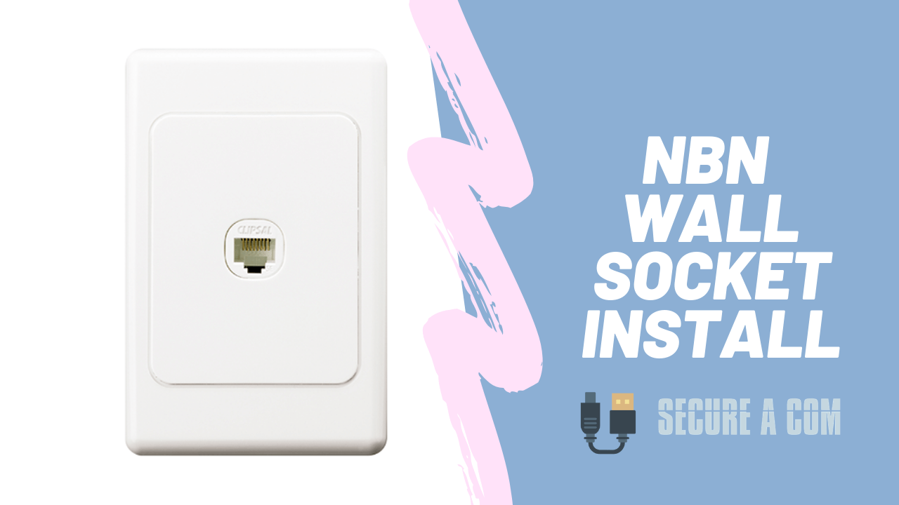 NBN Wall Socket Install