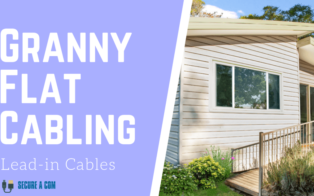 NBN Cabling for Granny Flats Sydney, Data or Lead-in cable