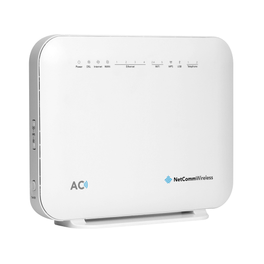NetComm NF18ACV AC1600 Wi-Fi xDSL Modem Router with Voice,